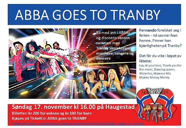 ABBA goes to Tranby